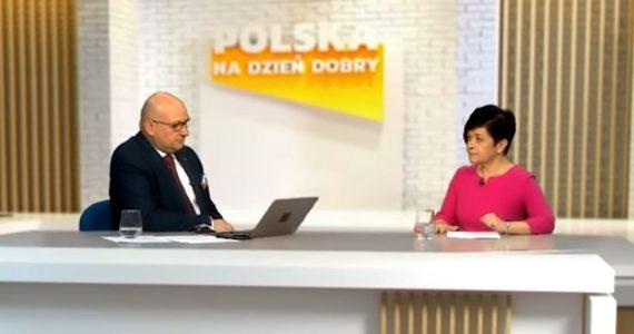 Poseł Joanna Borowiak była gościem redaktora Aleksandra Wierzejskiego w programie Prosto w oczy w Telewizji Republika
