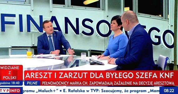 Poseł Joanna Borowiak była gościem Pana Redaktora Adriana Klarenbacha w programie TVP Info Minęła 8