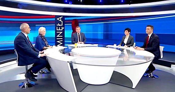 Poseł Joanna Borowiak gościem Pana Redaktora Adriana Klarenbacha w programie TVP Info