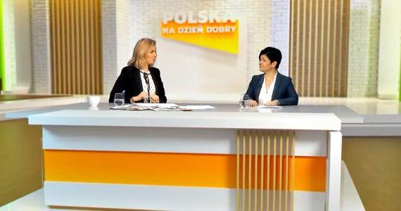 Poseł Joanna Borowiak była gościem w programie Prosto w oczy w Telewizji Republika