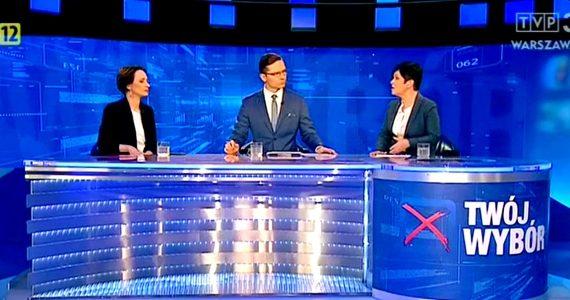 Poseł Joanna Borowiak gościem w programie TVP3 Twój wybór