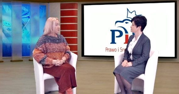Poseł Joanna Borowiak gościem w studiu Telewizji Kujawy