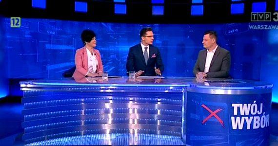 Poseł Joanna Borowiak gościem programu Twój Wybór w TVP3 Regiony