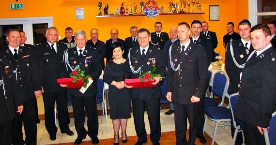 Walne Zebranie Sprawozdawcze i jubileusz w OSP w Krzyżówkach
