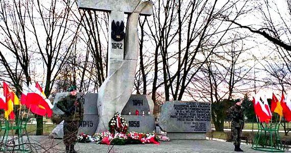 Obchody Narodowego Dnia Pamięci Żołnierzy Wyklętych we Włocławku