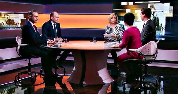 Poseł Joanna Borowiak gościem w programie Polityka na ostro w Polsat News