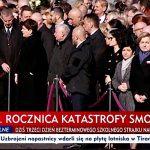 Obchody 9. rocznicy katastrofy Smoleńskiej w Warszawie