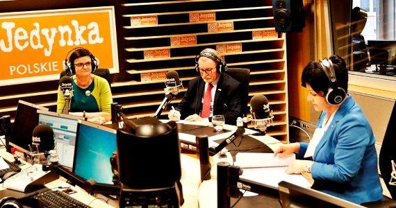 Poseł Joanna Borowiak gościem Debaty Jedynki w Polskim Radio