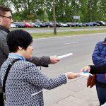Poseł Joanna Borowiak spotkała się z mieszkańcami Włocławka