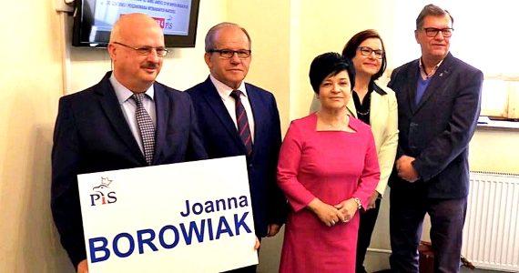 Konferencje prasowe Prawa i Sprawiedliwości z udziałem Poseł Joanny Borowiak