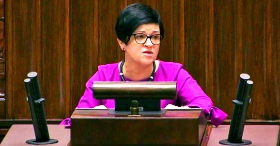 Poseł Joanna Borowiak zabrała głos w sprawie zaostrzenia kar za przestępstwo pedofilii