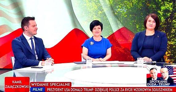 Poseł Joanna Borowiak gościem w specjalnym wydaniu Minęła 8