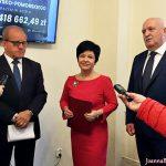 Konferencja prasowa Prawa i Sprawiedliwości we Włocławku