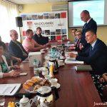 Spotkanie z Pełnomocnikiem Ministra Gospodarki Morskiej i Żeglugi Śródlądowej we Włocławku