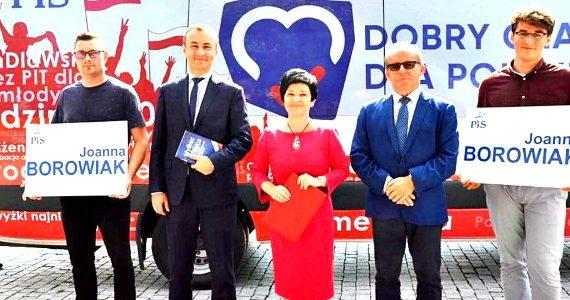 We Włocławku zainaugurowano kampanię Prawa i Sprawiedliwości do Sejmu i Senatu