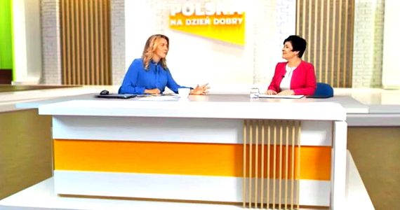 Poseł Joanna Borowiak gościem w programie Prosto w oczy w Telewizji Republika