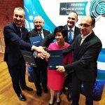 Uroczystość wręczenia decyzji o wsparciu lokalnych przedsiębiorców