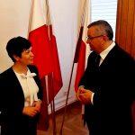 Spotkanie z Ministrem Infrastruktury Andrzejem Adamczykiem