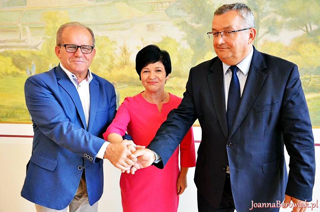 Spotkanie z Ministrem Andrzejem Adamczykiem i Senatorem Józefem Łyczakiem