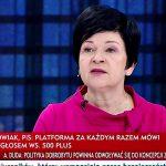 Poseł Joanna Borowiak gościem w programie TVP Info Minęła 9