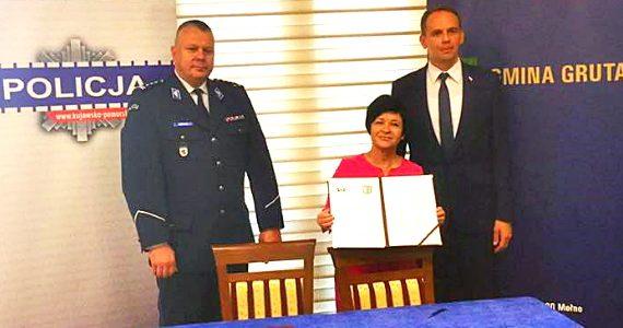 Nowy posterunek Policji w Grucie
