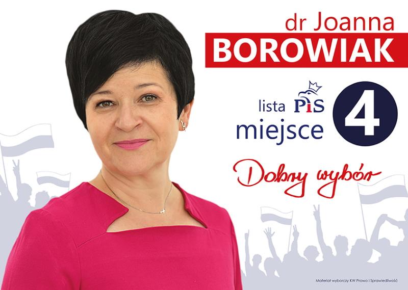 Poseł Joanna Borowiak