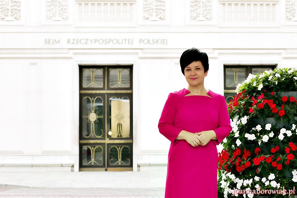 Poseł Joanna Borowiak złożyła podziękowania za pozytywną ocenę jej dotychczasowej pracy w Sejmie
