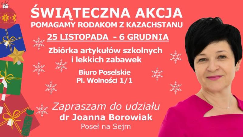 Zbiórka dla polskich dzieci w Kazachstanie