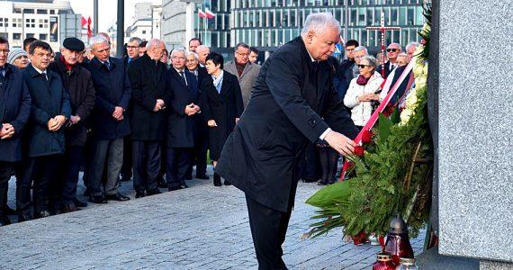 Uroczystości pod pomnikami Śp. Prezydenta RP Lecha Kaczyńskiego oraz Ofiar Tragedii Smoleńskiej