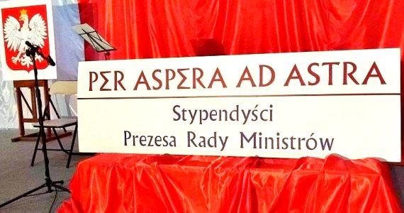Uroczystość wręczenia stypendiów Prezesa Rady Ministrów