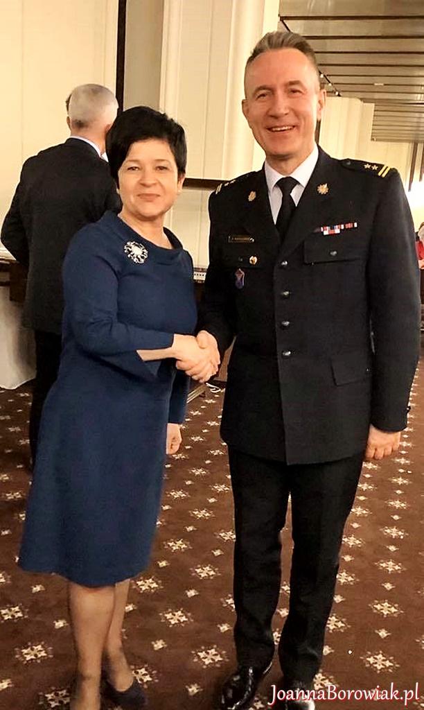 Spotkanie Parlamentarnego Zespołu Strażaków z nowym Komendantem Głównym Państwowej Straży Pożarnej