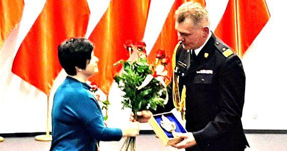 Uroczystość przekazania obowiązków Kujawsko - Pomorskiego Komendanta Wojewódzkiego PSP
