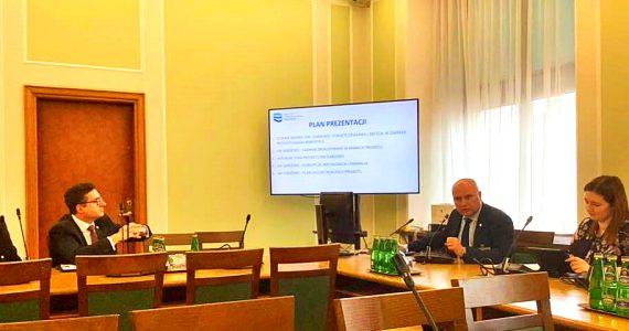 Posiedzenie Parlamentarnego Zespołu ds Kaskadyzacji Dolnej Wisły i stopnia wodnego w Siarzewie