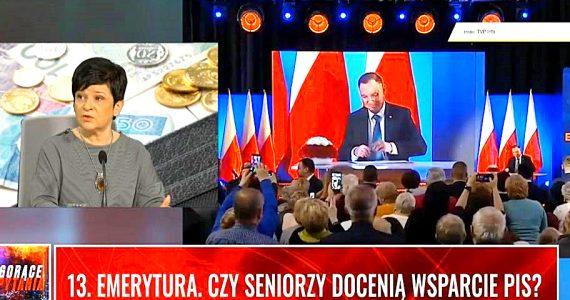Poseł Joanna Borowiak gościem w programie Gorące Pytania wPolsce.pl