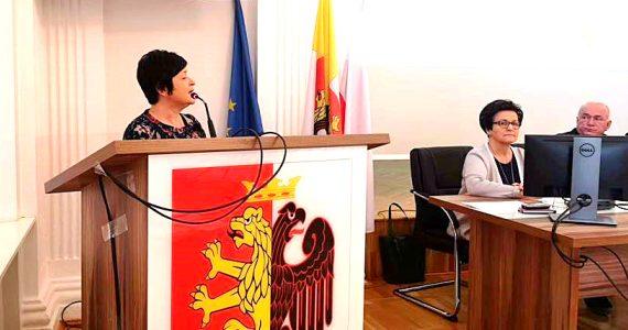 Poseł Joanna Borowiak wzięła udział w XIV Sesji Rady Powiatu Włocławskiego