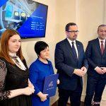 We Włocławku gościł wiceminister Ministerstwa Infrastruktury Marcin Horała