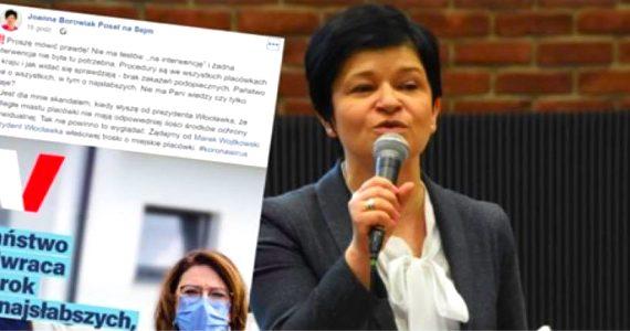 Poseł Joanna Borowiak obnaża nieprawdę w wypowiedzi kandydatki na Prezydenta RP