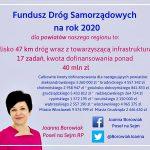 Rządowe środki na drogi powiatowe i gminne w województwie Kujawsko - Pomorskim