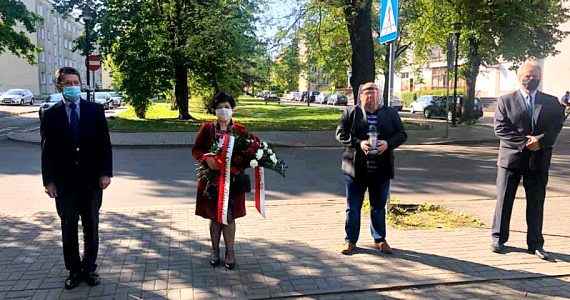 Obchody 75. rocznicy zakończenia II wojny światowej we Włocławku
