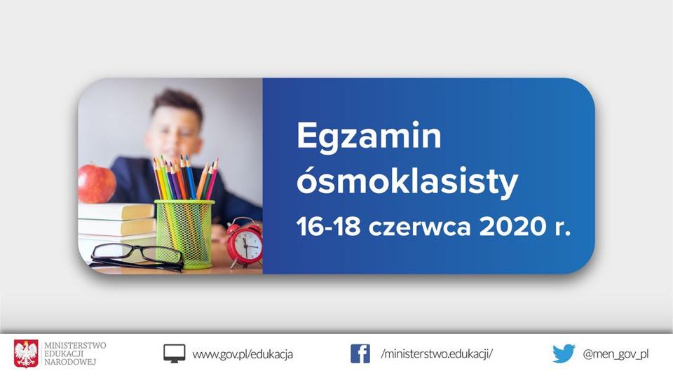 Poseł Joanna Borowiak życzy jak najlepszych wyników na egzaminie ósmoklasisty