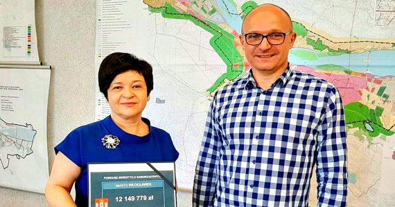 Kolejne wsparcie finansowe na inwestycje dla Włocławka