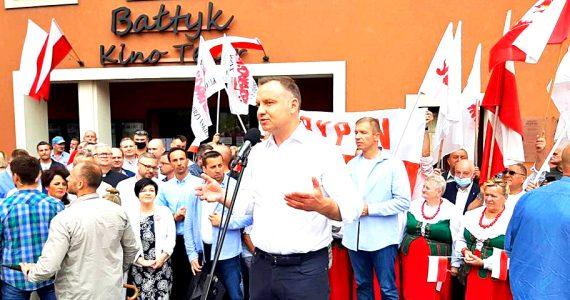 Prezydent Andrzej Duda z wizytą w Rypinie