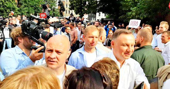 Poseł Joanna Borowiak uczestniczyła w spotkaniu Prezydenta Andrzeja Dudy z mieszkańcami Torunia