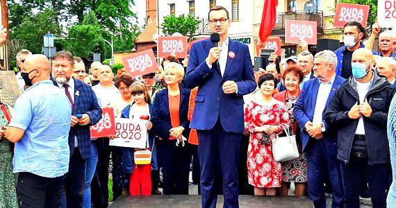 Premier Mateusz Morawiecki z wizytą w naszym regionie