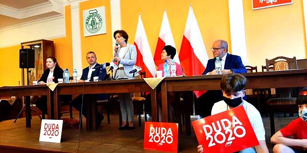 Spotkanie z Minister Rodziny, Pracy i Polityki Społecznej we Włocławku