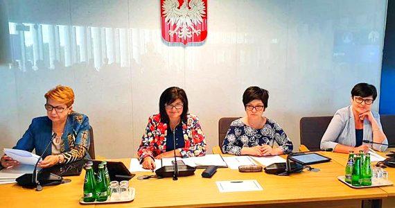 Kolejny pracowity dzień Poseł Joanny Borowiak w Sejmie RP
