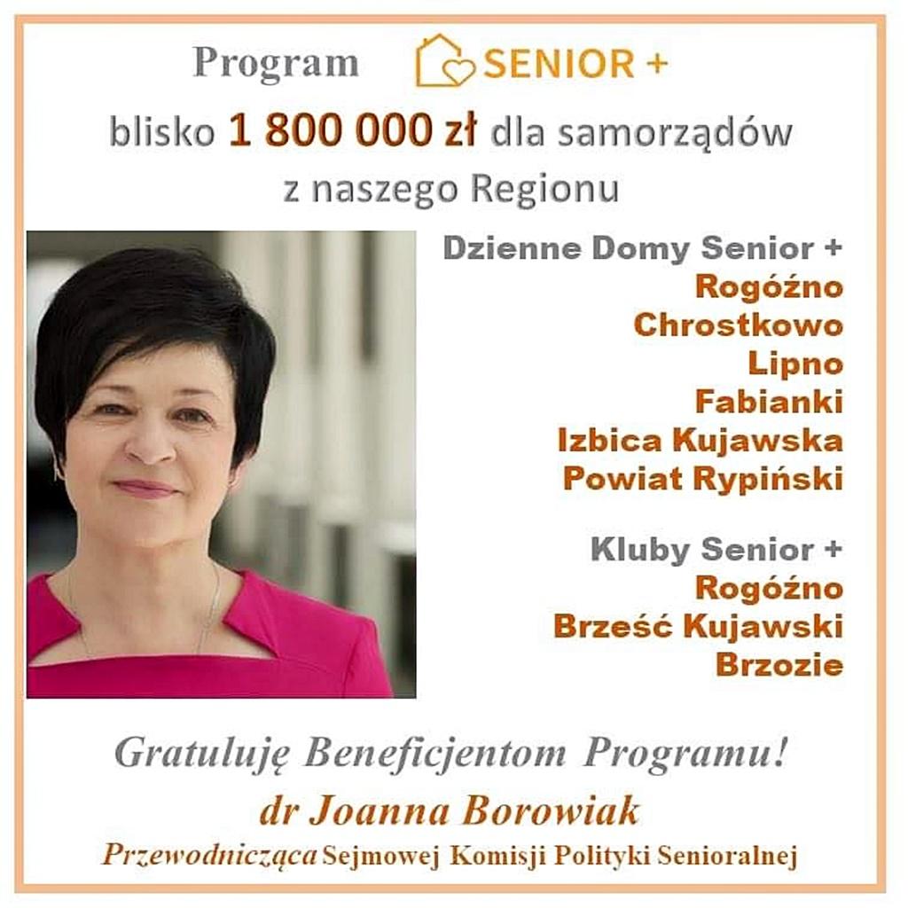 Samorządowcy z naszego Regionu aktywnie korzystają z rządowego Programu Senior Plus