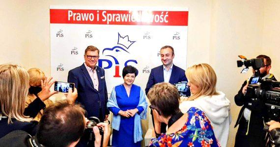 Briefing prasowy w biurze poselskim Joanny Borowiak