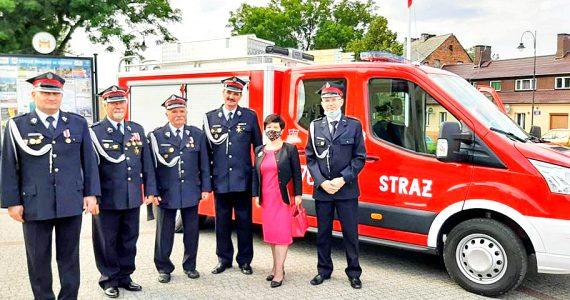 Uroczystość poświęcenia sztandaru Państwowej Straży Pożarnej w Lipnie
