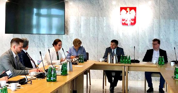 Spotkanie Polsko-Węgierskiej Grupy Parlamentarnej